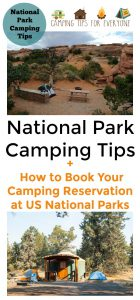 National Park Camping Tips