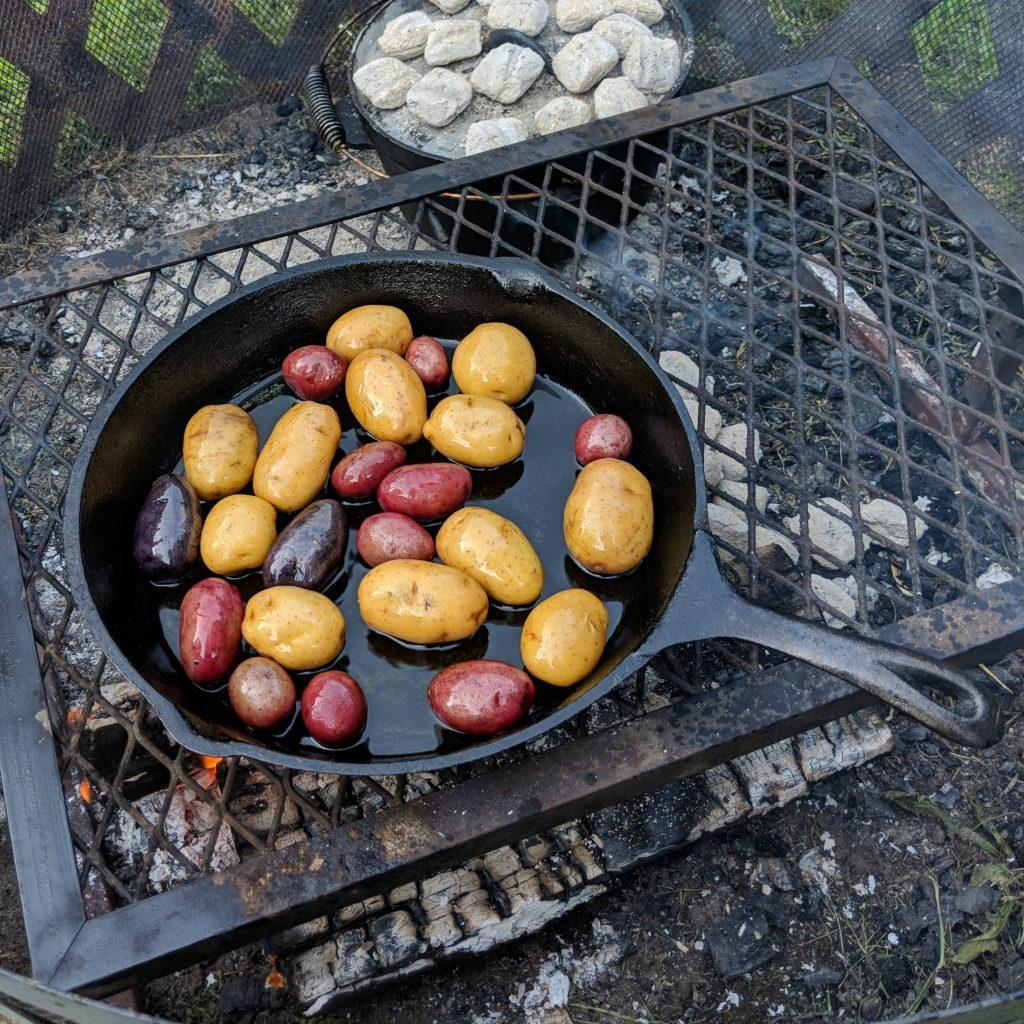 Herb & Garlic New Potatoes | Camp and Cabin Cookbook