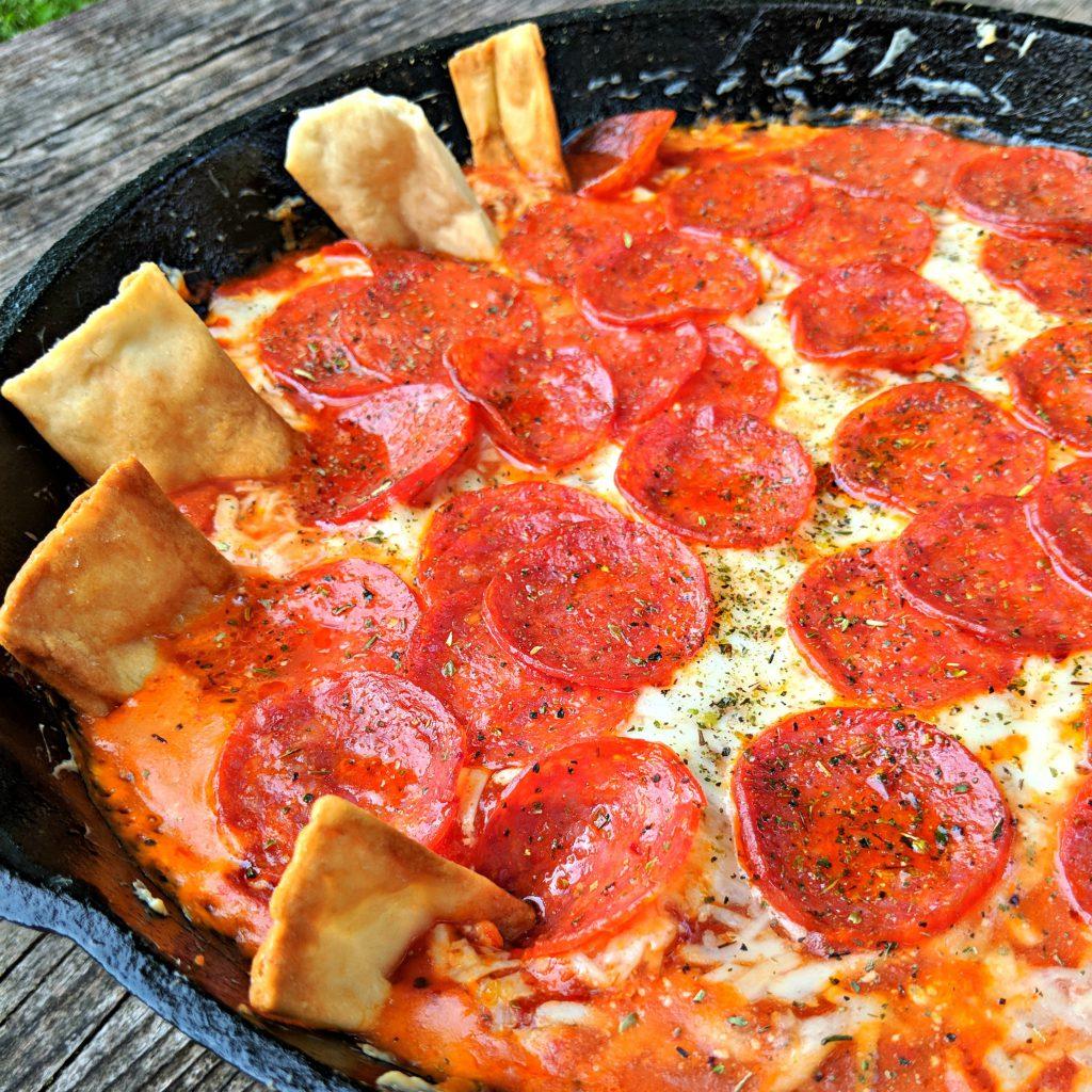 Skillet Pizza Dip | Camp and Cabin Cookbook