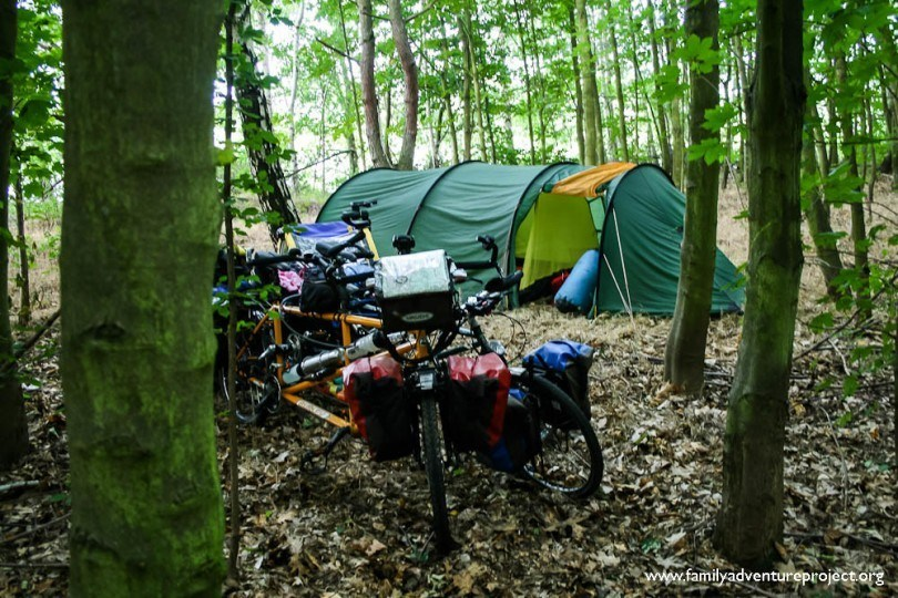 bike camping | Family Adventure Project