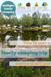 family camping trip tips