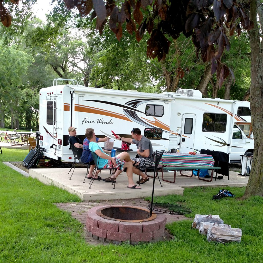 RV at Grand Island KOA Journey