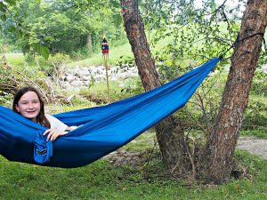Parachute Hammock for camping or at home