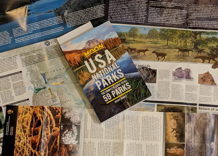 Why the USA National Parks Guide by Moon Should Be in Every Camper's Library