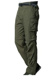 Toomett Quick Dry COnvertible Pants for camping & hiking