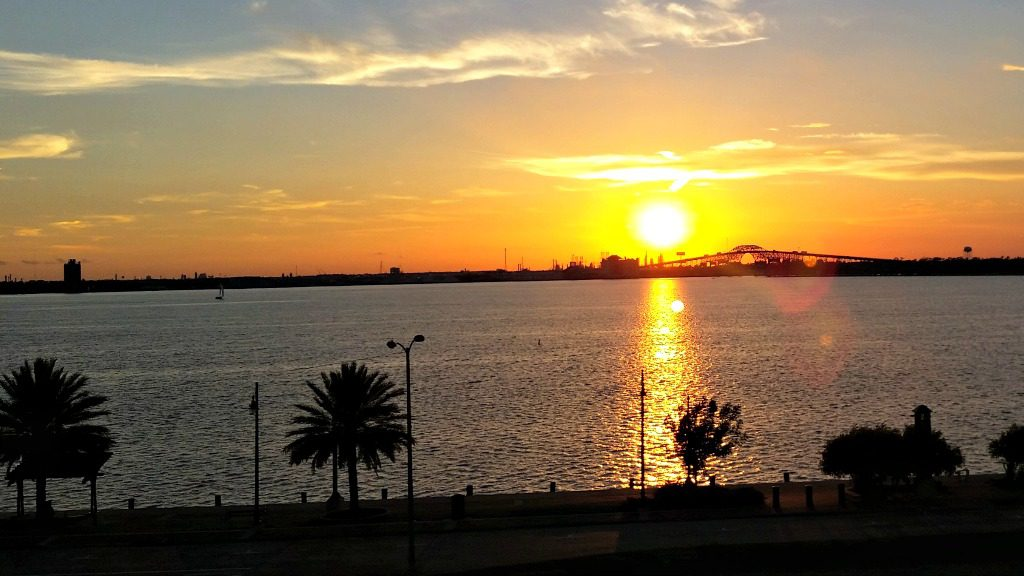Sunset in Lake Charles, Louisiana. Photo by Jody Halsted, Halsted Enterprises, Inc.