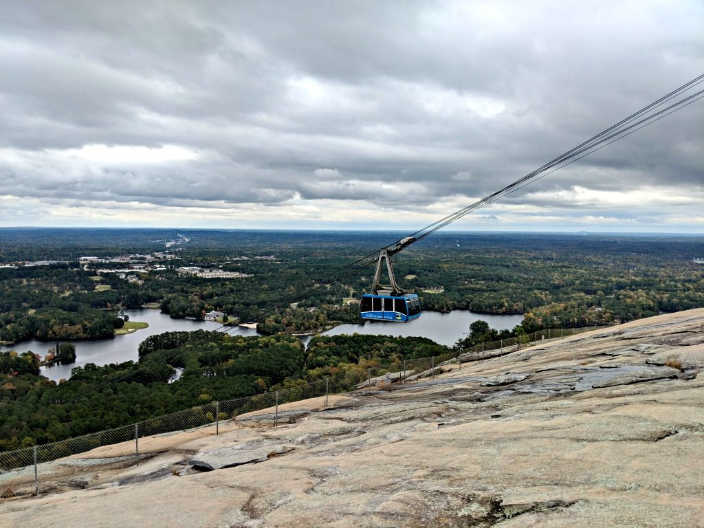 Cable Car at Stone Mountain. Photo by Jody Halsted, Halsted Enterprises, Inc.