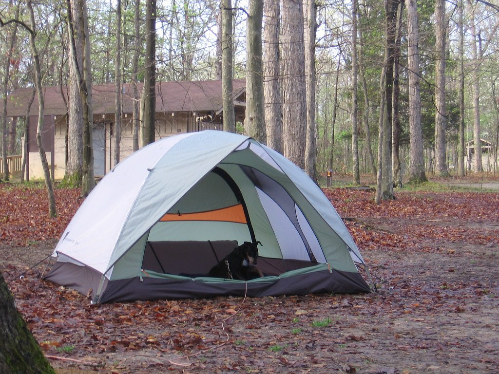 Mammoth Cave Camping