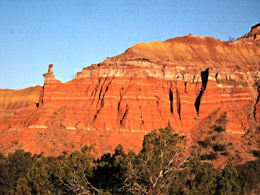 Palo Duro Canyon State Park. Photo by Jody Halsted, Halsted Enterprises, Inc.