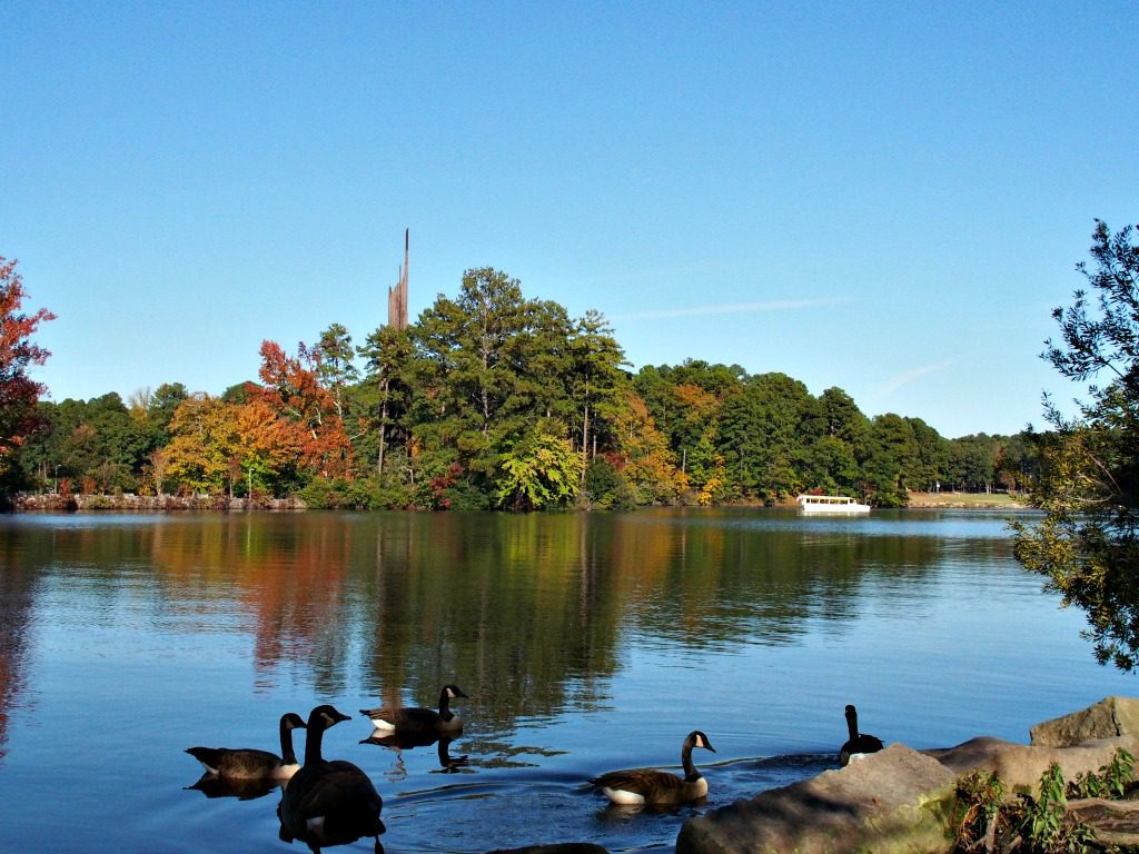 Stone Mountain Lake, Stone Mountain Park, Georgia. Photo by Jody Halsted, Halsted Enterprises, Inc.