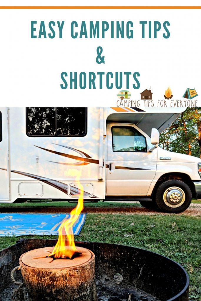 Camping Shortcuts It S Ok To Take Camping Tips Camping