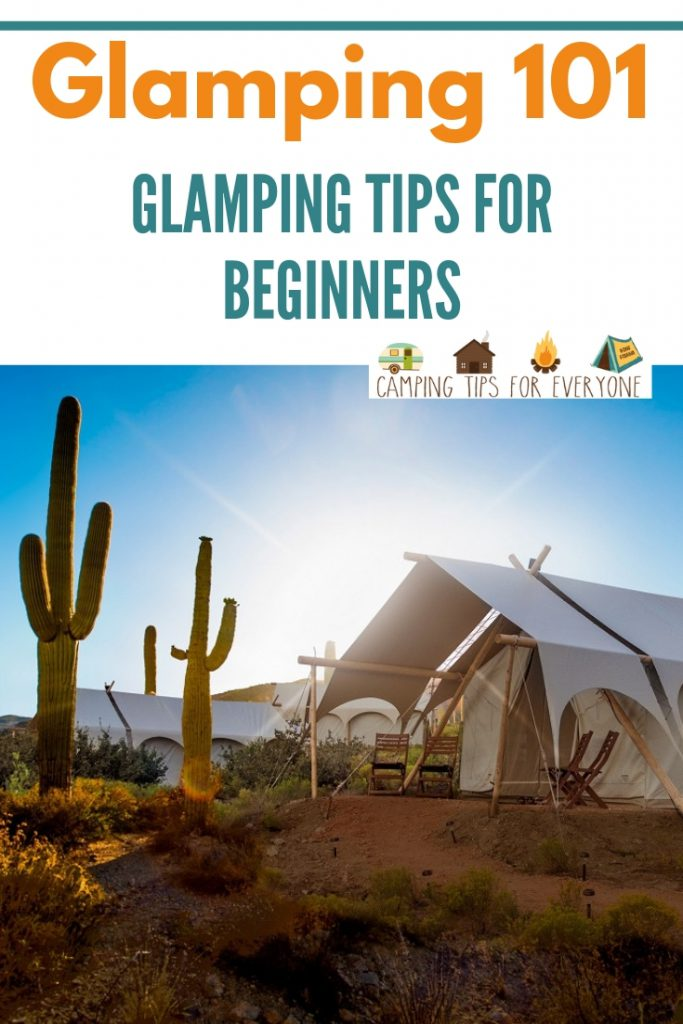 Glamping Tips for Beginners