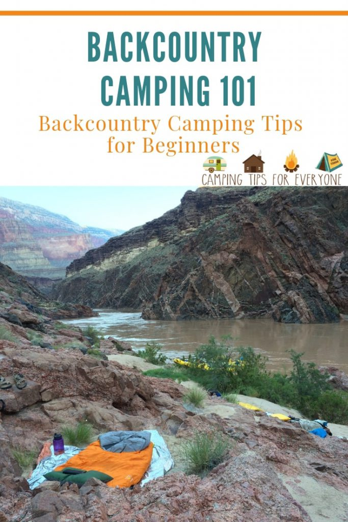 Backcountry Camping Tips for Beginners