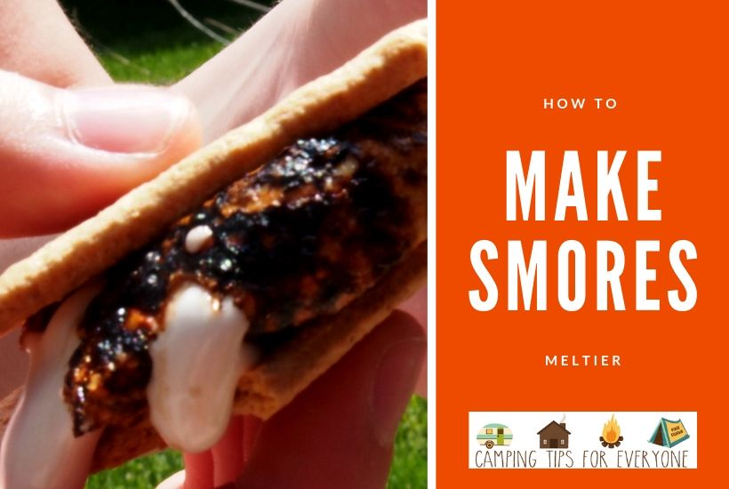 how to make smores meltier