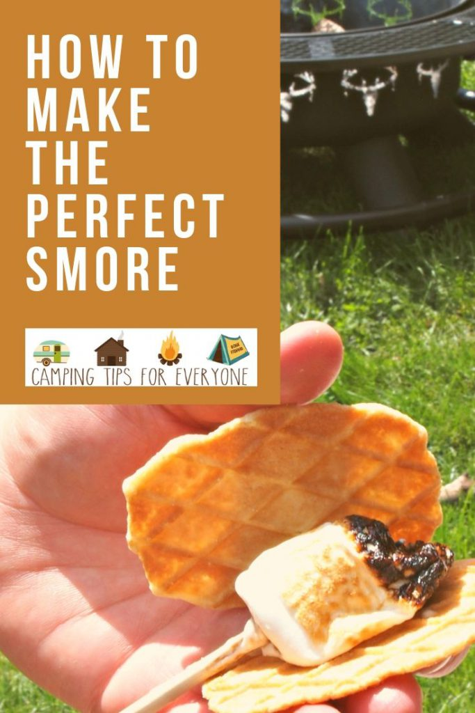 how to make the perfect smore- every time