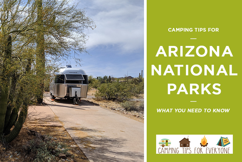 Arizona National parks camping tips