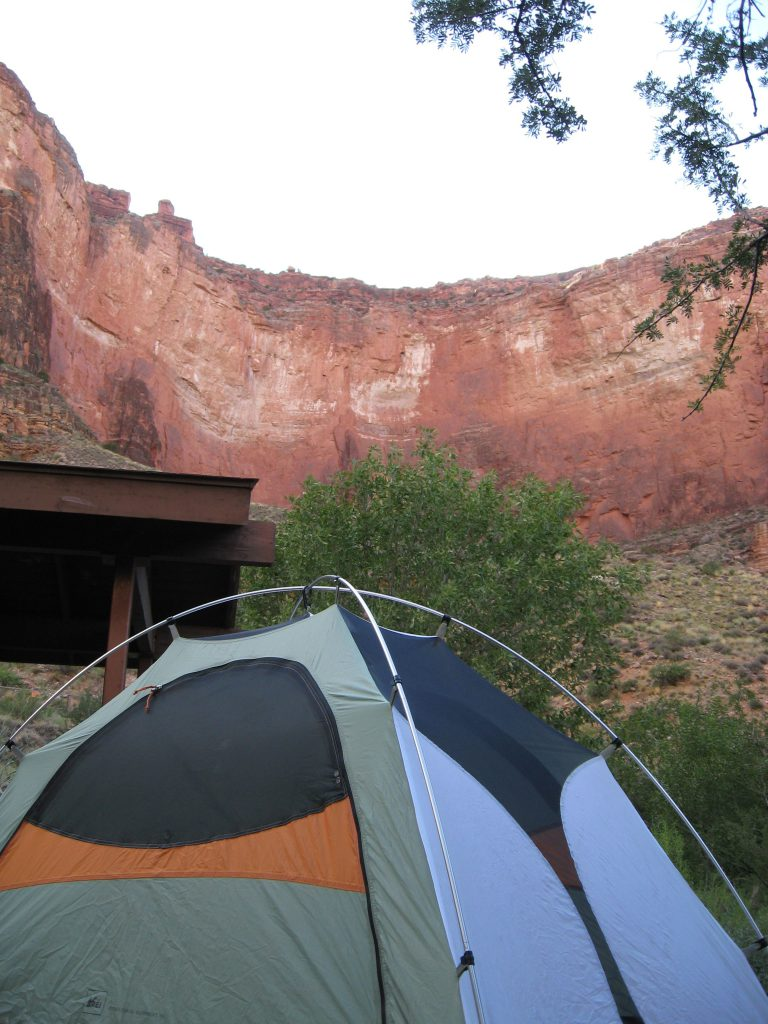 Grand Canyon Backcountry Camping