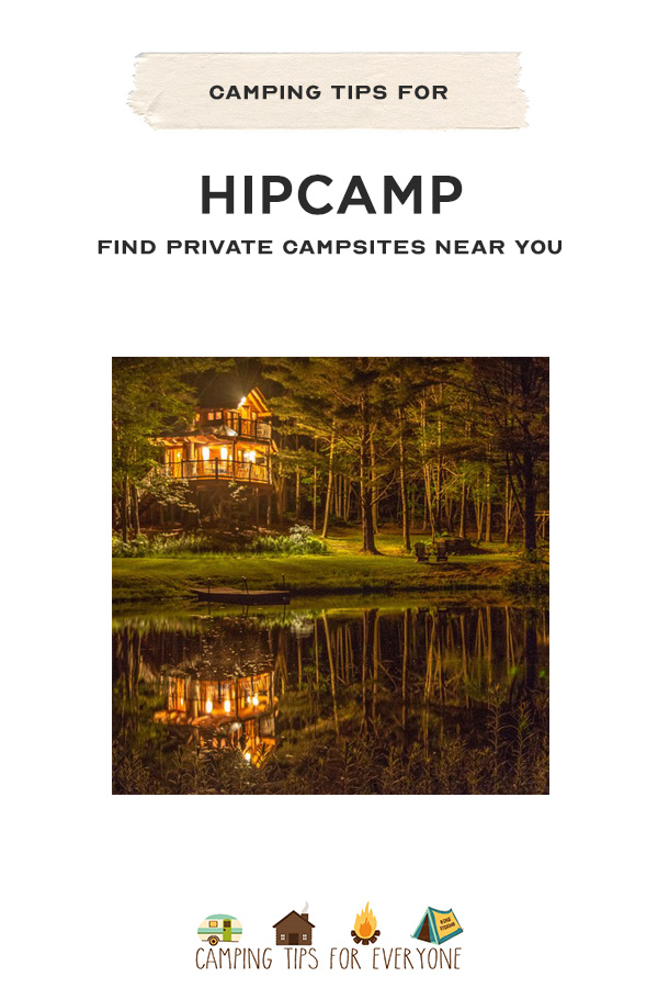 How to use Hipcamp to book private camping sites