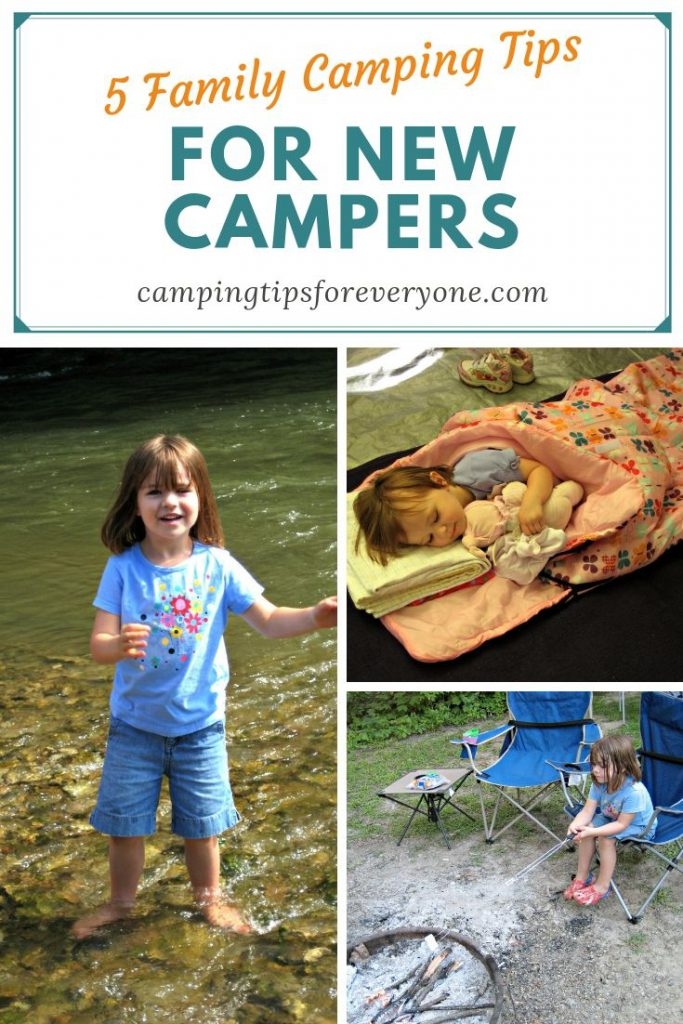 Family Camping Tips for New Campers