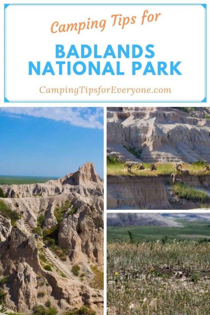 Camping tips for Badlands National Park