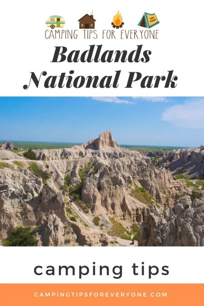 Badlands National Park camping tips