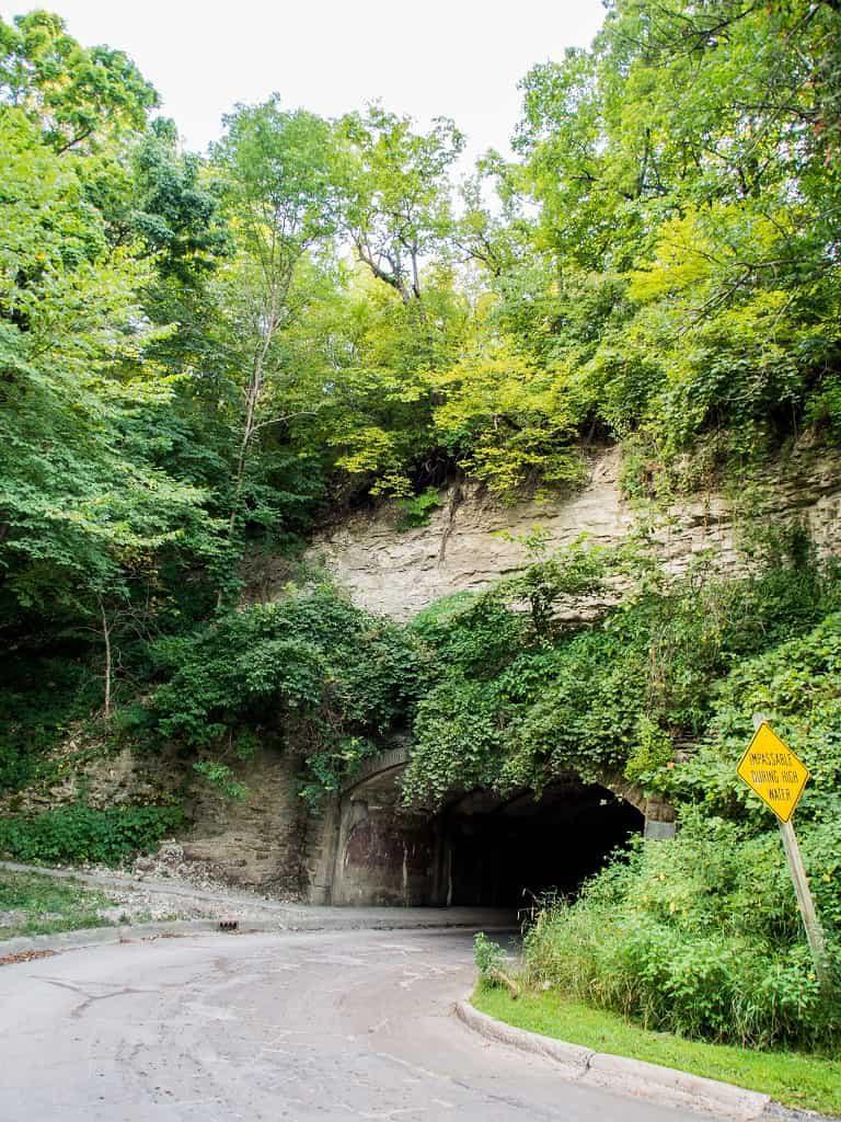 Harmon Tunnel, Pammel State Park, Winterset, Iowa