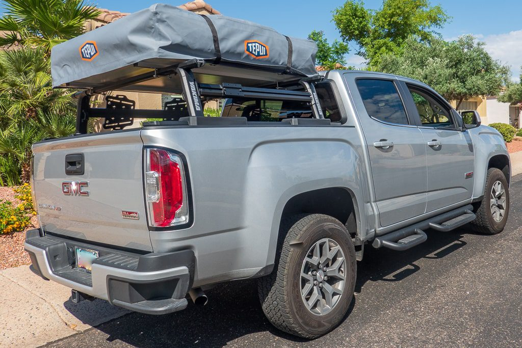 test your rooftop tent before use