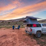 go anywhere! car camping in a rooftop tent