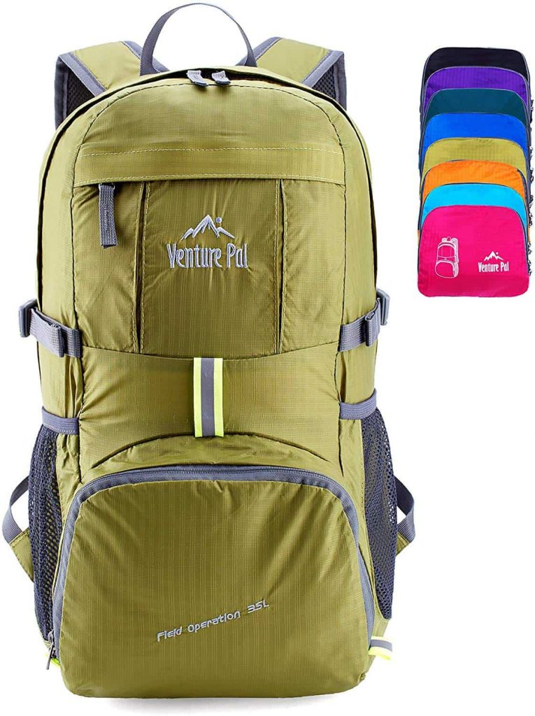 Venture Pal Lightweight Packable Backpack (img via Amazon.com)
