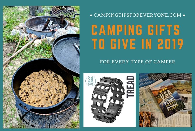 camping gift ideas 2019