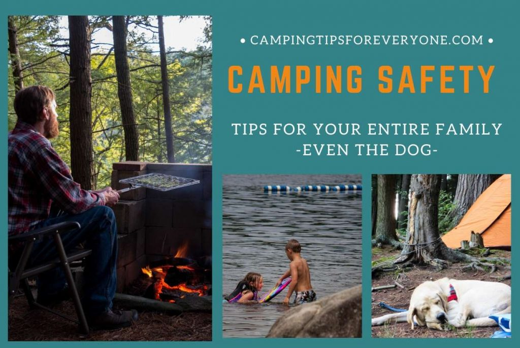 camping images and safety tips