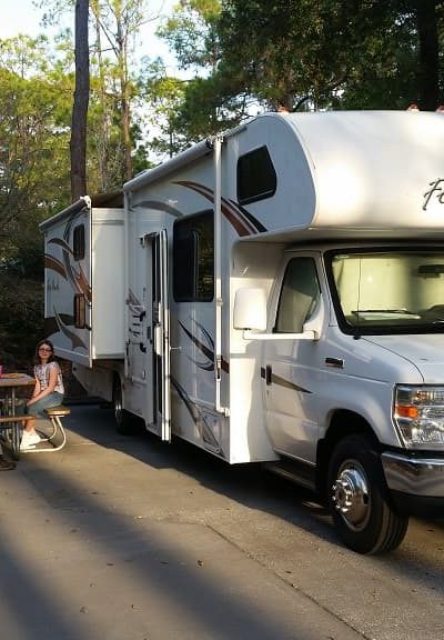 RV at Fort Wilderness Campground, Walt Disney World, FL