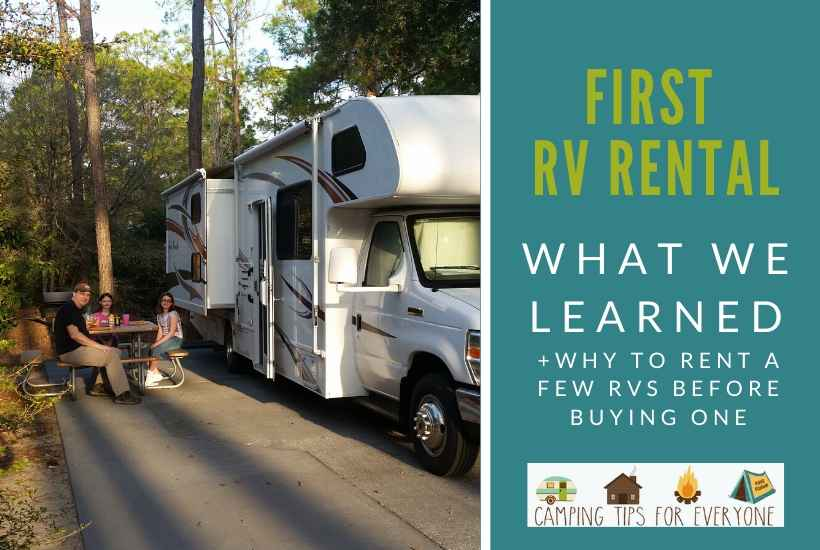 RV at Fort Wilderness Campground, Walt Disney World