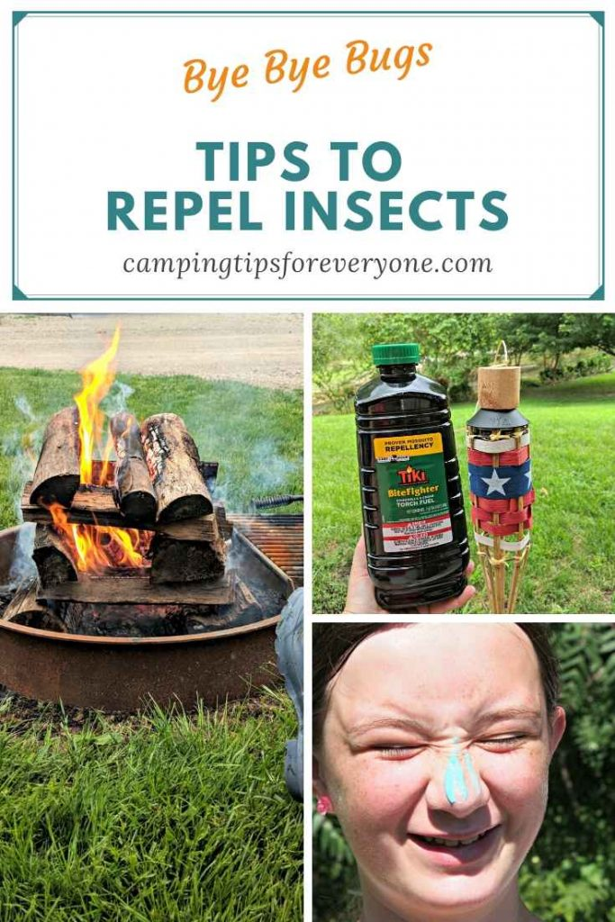 camping tips to repel insects