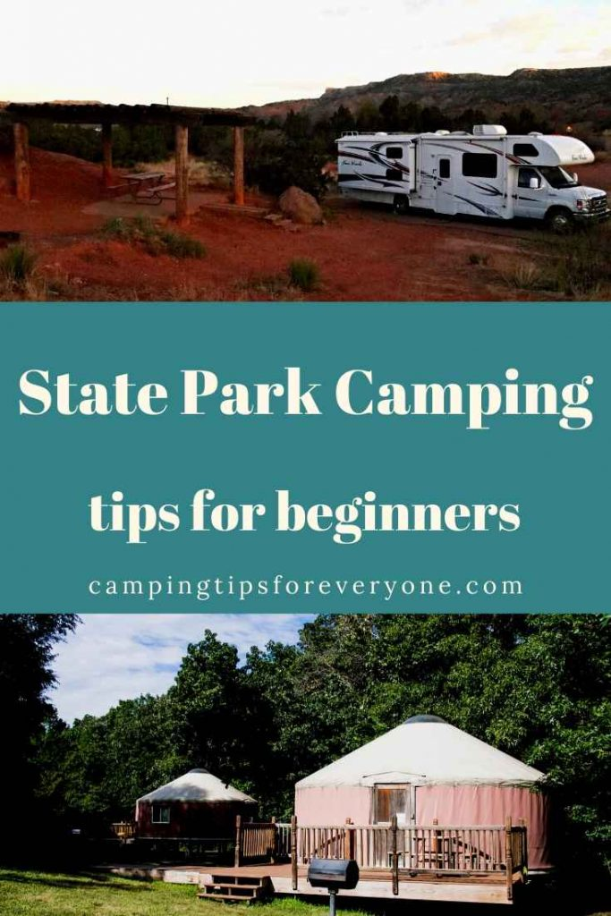 state park camping tips