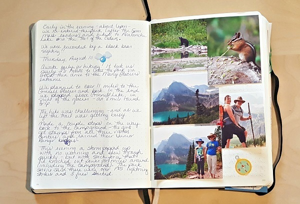 Bullet Journal Camping Journal. How to use a Bullet Journal to Plan Your Camping Trip from Camping Tips for Everyone. #BulletJournal #campingplanner #campingtips #BuJo
