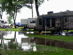 Camping in the rain? Tips to keep you dry, fed, and sane from Camping Tips for Everyone.