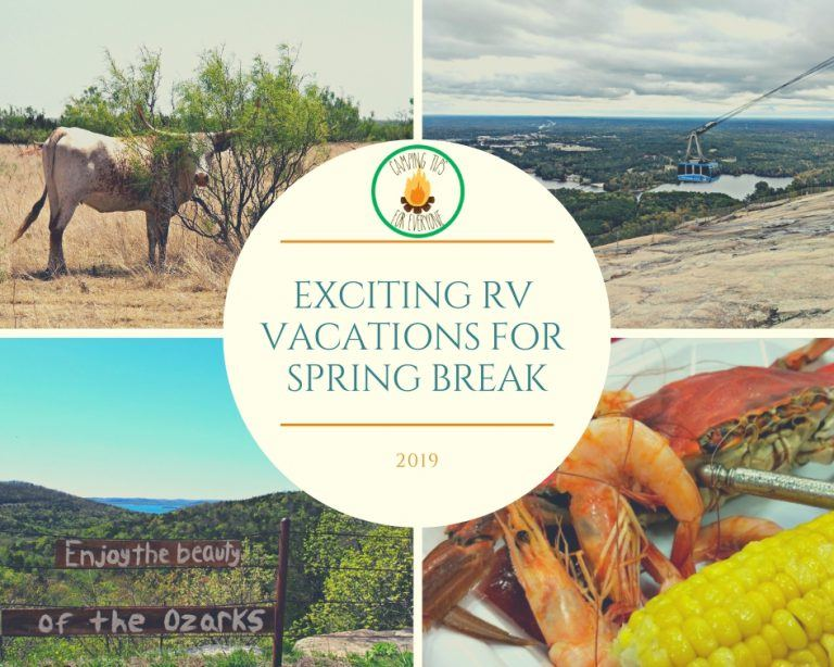 Exciting RV Vacations for Spring Break