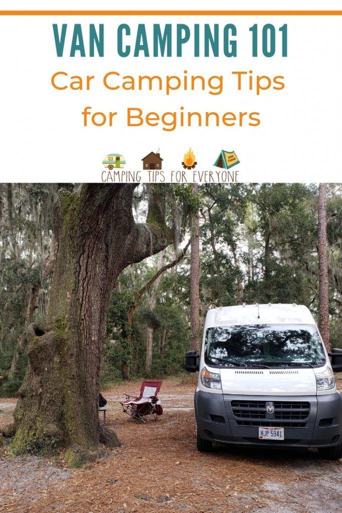 car camping tips