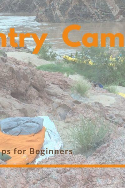 Backcountry Camping Tips
