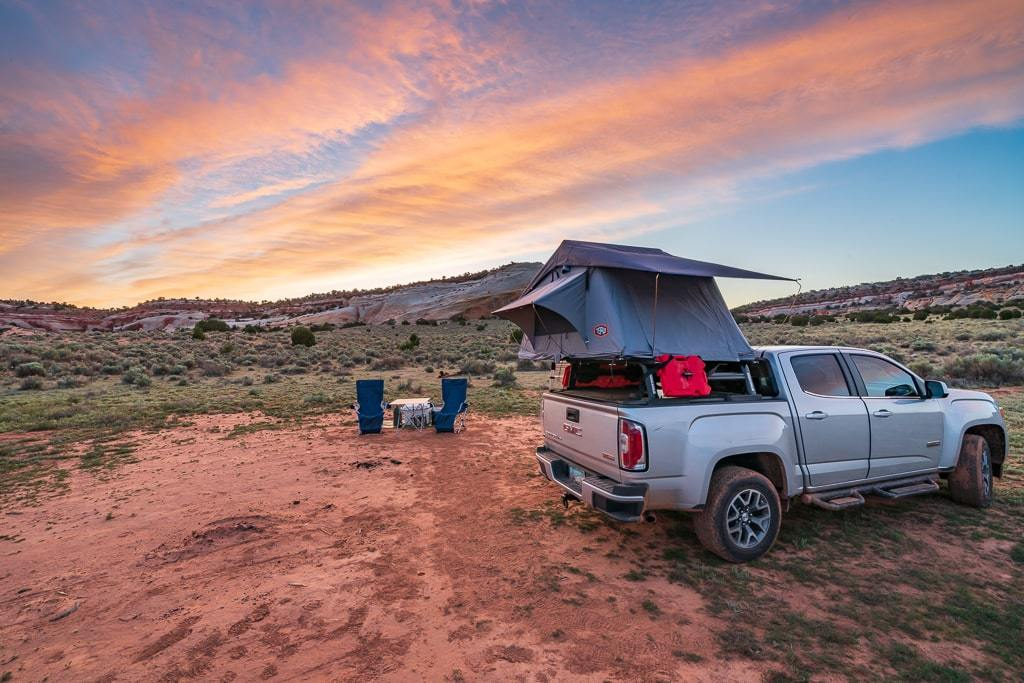 Car Camping in a Rooftop Tent | Camping Tips