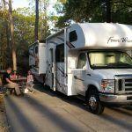 RV at Fort Wilderness Campground, Walt Disney World, FL