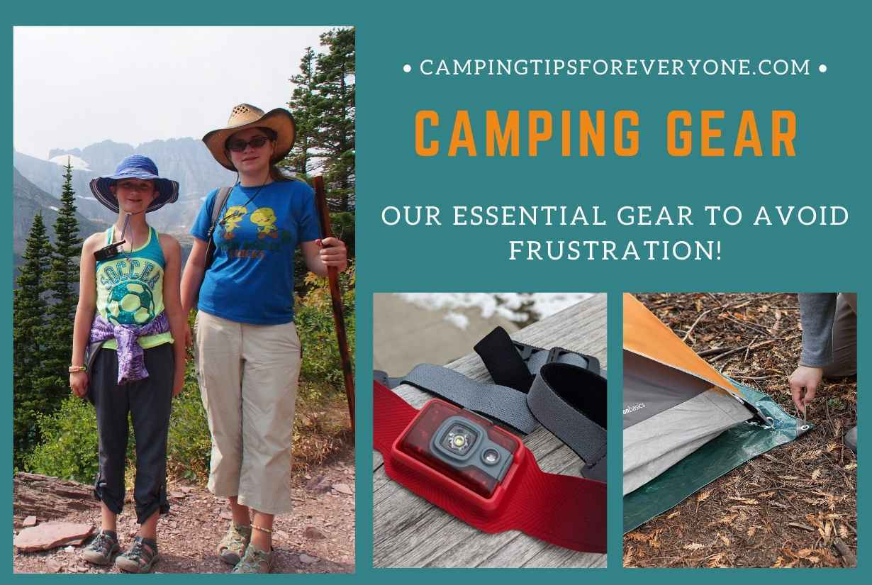 8 Items You Should Always Take Camping to Avoid Frustration | Camping Gear