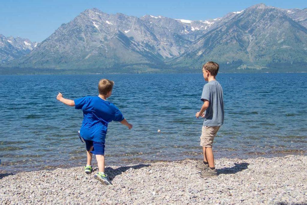 Grand-Teton-National-Park-camping-camp-Colter-Bay-Campground-Jackson-Lake-kids-Carltonauts-Travel-Tips